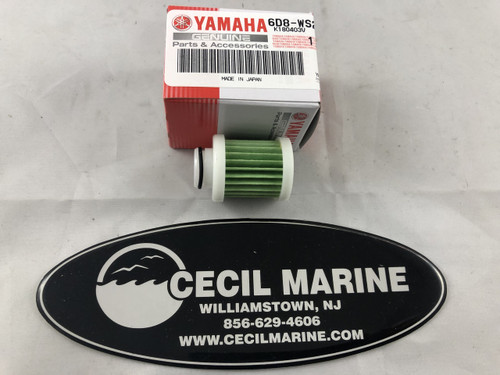 $18.99 GENUINE YAMAHA FUEL FILTER  6D8-WS24A-00-00  *In stock and ready to ship!