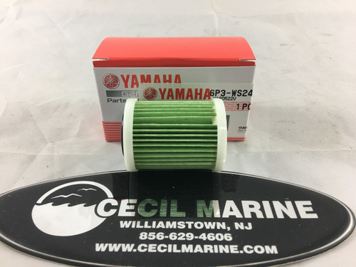 $19.95* GENUINE YAMAHA Outboard Fuel Filter 6P3-WS24A-01-00 *In Stock And Ready To Ship!