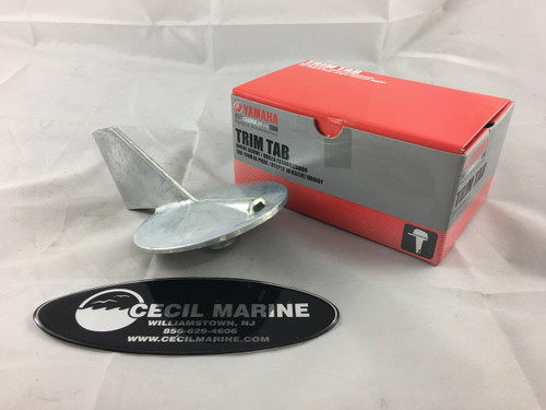 $27.95** YAMAHA TRIM TAB ANODE (6K1-45371-02) **IN STOCK READY TO SHIP**