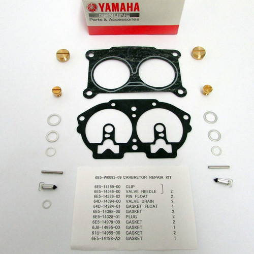 $99.75** YAMAHA CARB REPAIR KIT (6E5-W0093-09) **IN STOCK READY TO SHIP**