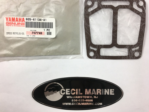 $8.80** YAMAHA EXHAUST MANIFOLD GASKET (6G5-41134-A1) **IN STOCK READY TO SHIP/**