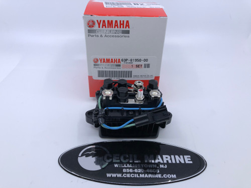 $205.95* GENUINE YAMAHA TRIM RELAY 63P-81950-00-00  *In Stock & Ready To Ship!
