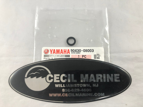 $2.95* Genuine Yamaha Gear Lube Plug Seal  90430-08003-00 **IN STOCK READY TO SHIP**