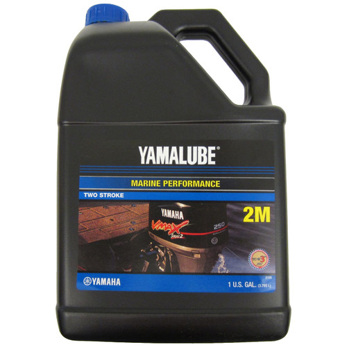 YAMAHA 2 STROKE OIL 2M 1 GALLON SOLD INDIVIDUALLY