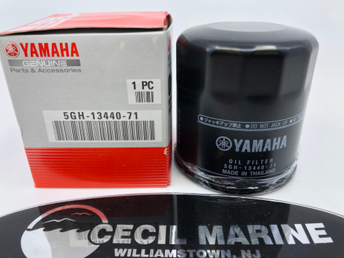 $11.99 GENUINE YAMAHA OIL FILTER 5GH-13440-71-00 *In Stock & Ready To Ship!