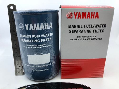 $19.95 GENUINE YAMAHA 10 MICRON FUEL FILTER / WATER SEPARATOR MAR-10MEL-00-00 *In Stock & Ready To Ship!