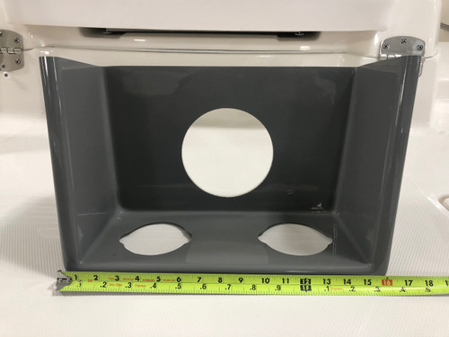 STORAGE TUB - W/ CUP HOLDER & SPEAKER GRAPHITE - 33.00056  * IN STOCK & READY TO SHIP! **