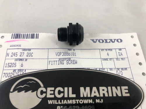 $15.99* GENUINE VOLVO FITTING SCREW - 3886181 * IN STOCK & READY TO SHIP!
