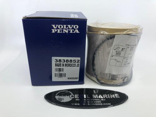 $23.95* GENUINE VOLVO PENTA  FUEL FILTER INSERT 3838852 ** In Stock & Ready To Ship! **