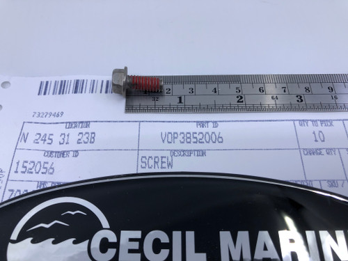 $5.95* GENUINE VOLVO SCREW 3852006  *In Stock & Ready To Ship!