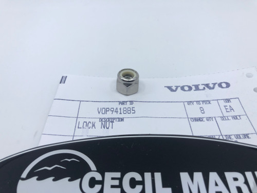 $12.95* GENUINE VOLVO LOCK NUT  941885 **In stock & ready to ship!