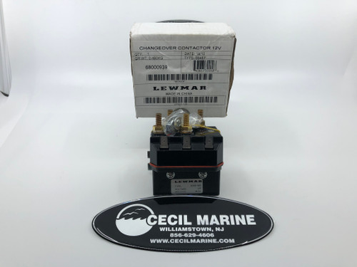 $84.99 GENUINE LEWMAR 12V CONTACTOR RELAY 6646P 68000939 12 VOLT DUAL DIRECTION