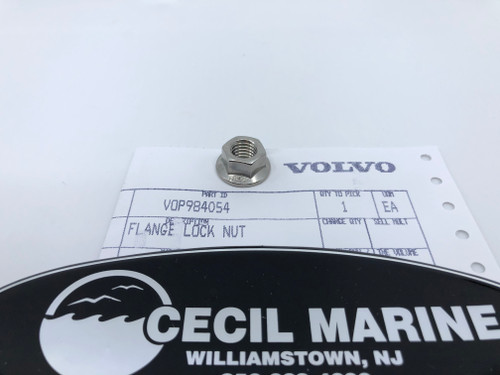 $3.95* GENUINE VOLVO FLANGE LOCK NUT 984054  ** IN STOCK & READY TO SHIP! **