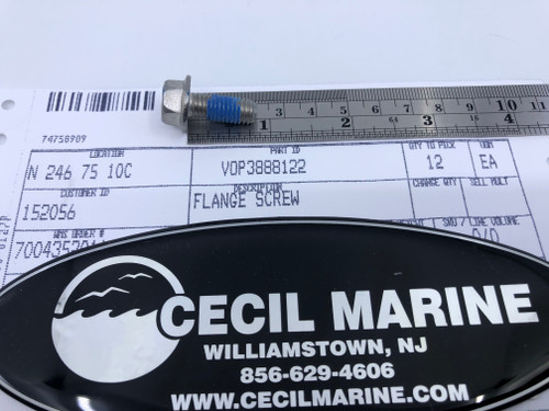 $4.95* GENUINE VOLVO FLANGE SCREW 3888122  *In Stock & Ready To Ship!