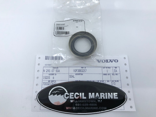 $14.99* GENUINE VOLVO GIMBAL BEARING SEAL 3883257  * IN STOCK & READY TO SHIP!