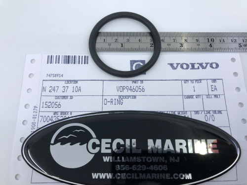 $7.95* GENUINE VOLVO O-RING 946056 *Special order 5 to 7 day delivery