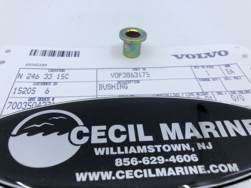 $7.95* GENUINE VOLVO BUSHING * Special order10 to14 day delivery