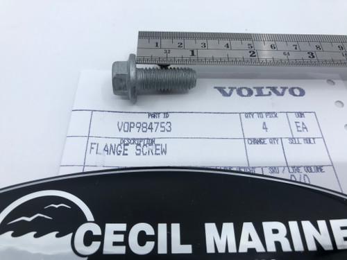 $3.95* GENUINE VOLVO  FLANGE SCREW 984753   *In Stock & Ready To Ship!