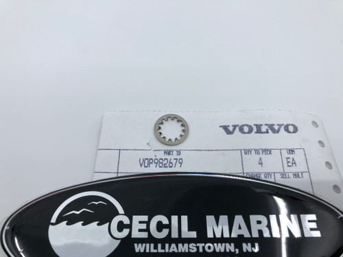 $1.95* GENUINE VOLVO  TOOTHED WASHER 982679 *In Stock & Ready To Ship!