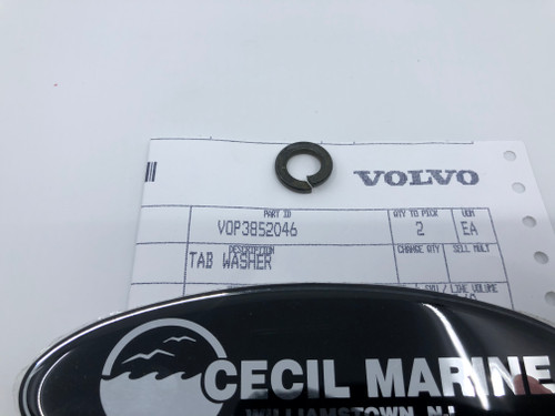 4.95* GENUINE VOLVO  TAB LOCK WASHER 3852046 *In Stock & Ready To Ship!