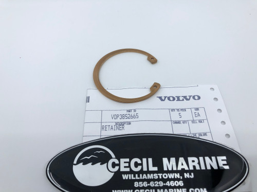 $29.95* GENUINE VOLVO  RETAINER 3852665 *In Stock & Ready To Ship!