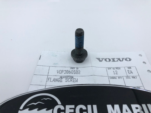 $4.95* GENUINE VOLVO  FLANGE SCREW 3860582 *In Stock & Ready To Ship!