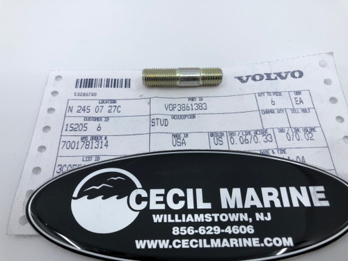 $26.95* GENUINE VOLVO STUD 3861383 *In Stock & Ready To Ship!