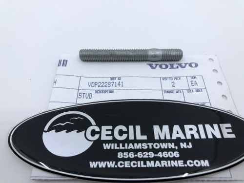 $13.95* GENUINE VOLVO STUD 22287141 *In Stock & Ready To Ship!