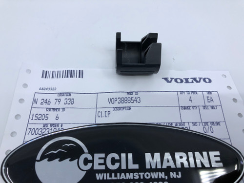 $7.95  * GENUINE VOLVO CLIP 3888543 Special Order 10 TO 14 Day Delivery