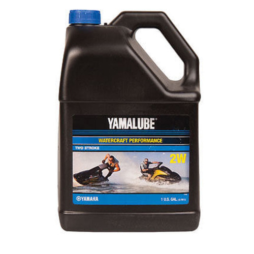 $29.95* Genuine Yamaha Yamalube PWC WaveRunner 2 Stroke Engine Inject Oil LUB-2STRK-W1-04 Gallon  In Stock & Ready To Ship!