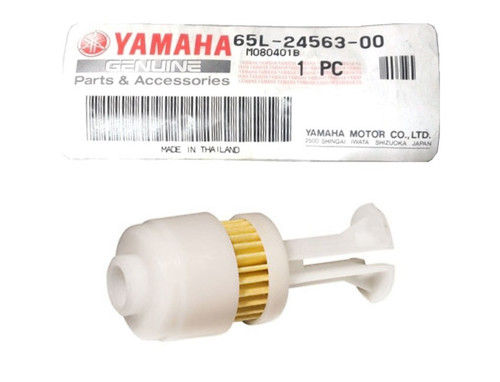 $13.99* GENUINE YAMAHA YAMAHA FUEL FILTER 65L-24563-00-00  *In Stock & Ready To Ship!