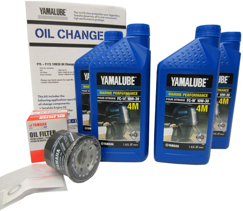 $48.95* GENUINE YAMAHA F75 - F115 LUB-MRNMD-KT-11 *In Stock & Ready To Ship!