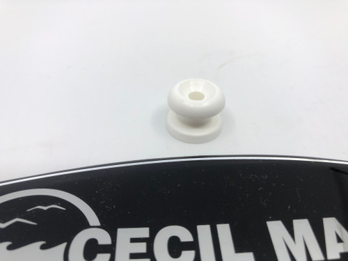 SHOCK CORD KNOB - WHITE 54.00011 *In Stock & Ready To Ship!