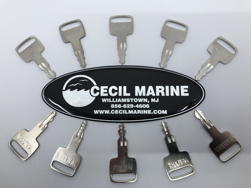 $18.95* GENUINE YAMAHA OUTBOARD IGNITION KEYS  *In Stock & Ready To Ship!