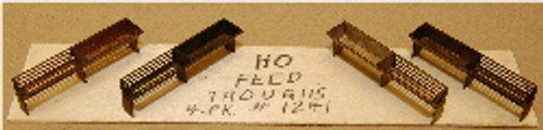 HO-SCALE FEED TROUGHS 4-PK