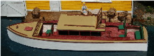 HO-SCALE 38' BOAT