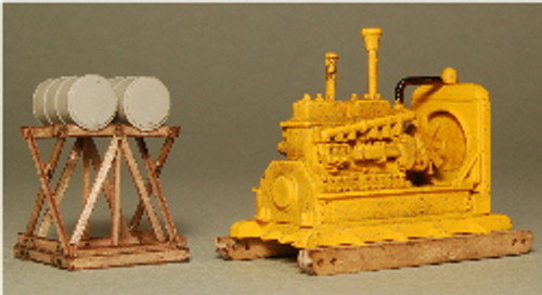 HO-SCALE FUEL STAND