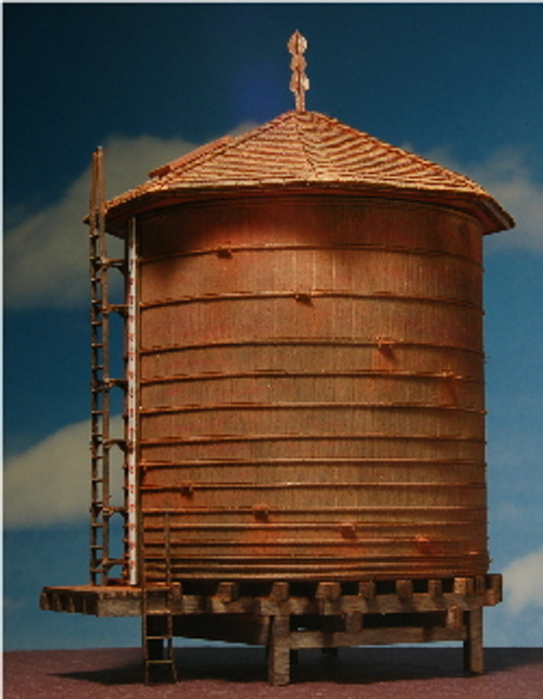 HO-SCALE WATER TANK (ROOFTOP) 20,000 GALLON