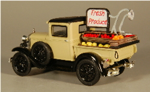 HO-SCALE TRUCK BED (PRODUCE)