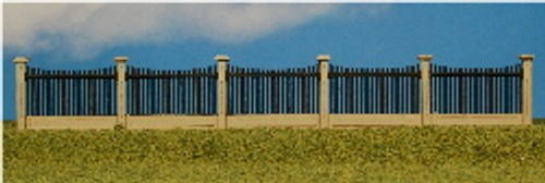 HO-SCALE FENCE #1