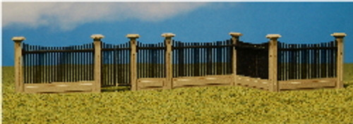 12512 - HO-SCALE FENCE #2