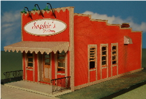 HO-SCALE SOPHIE'S FINE DINING