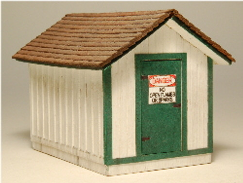 HO-SCALE GAS HOUSE