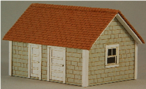 HO-SCALE WELL HOUSE
