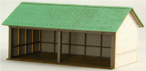 HO-SCALE OPEN SHED