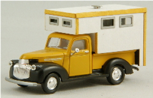 HO-SCALE TRUCK BED - CAMPER