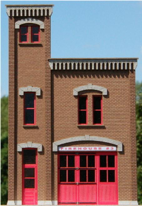 190241 - HO-SCALE FIREHOUSE #3 NPR