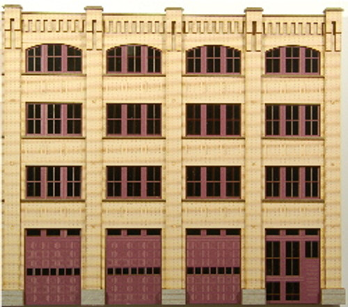 190262 - HO-SCALE LINDSAY BROS. SIDE-B BACKDROP NPR