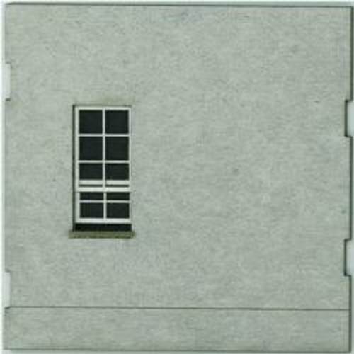 HO-SCALE: FACE (WINDOW-BLANK) CONCRETE 4-PACK