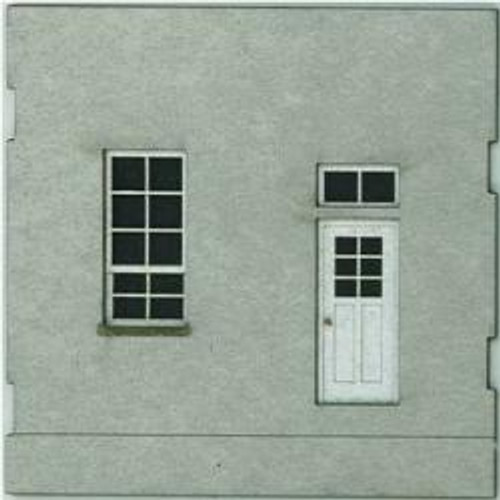 HO-SCALE: FACE (WINDOW-DOOR) CONCRETE 4-PACK